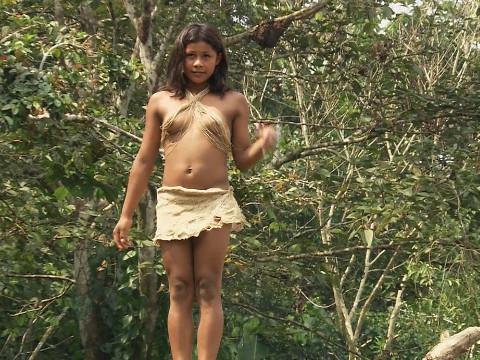 Новобрачные дикого племени