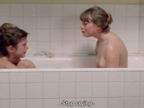 Подростки в ванне