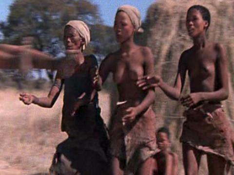 Дикое племя сталкивается с цивилизацией