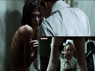 Досмотр и мойка в женской тюрьме.