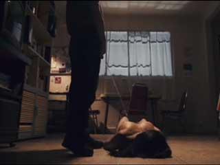 БДСМ сцены, мочеиспускание, тушение окурков, избиение девушки.