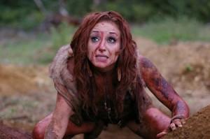 Кровоточащая леди, сцена насилия